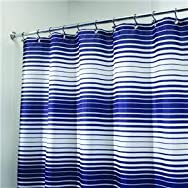 Interdesign 35520 Graphic Fabric Shower Curtain