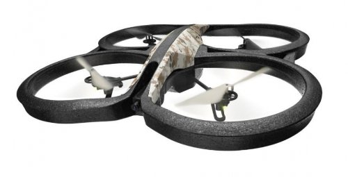 Parrot AR.Drone 2.0 Elite Edition Quadricopter - Wifi - Free App iOS & Android - Record HD 720p movies - Sand