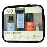 Skincare Kit ( For Sensitive Skin ): Facial Wash + Facial Scrub + Moisturizer + After Shave Mask