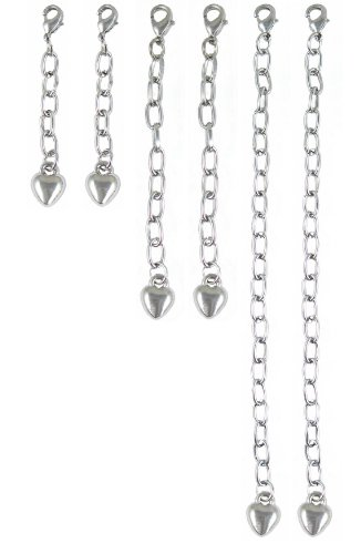 Necklace Bracelet Extender - 2 Sets - 1