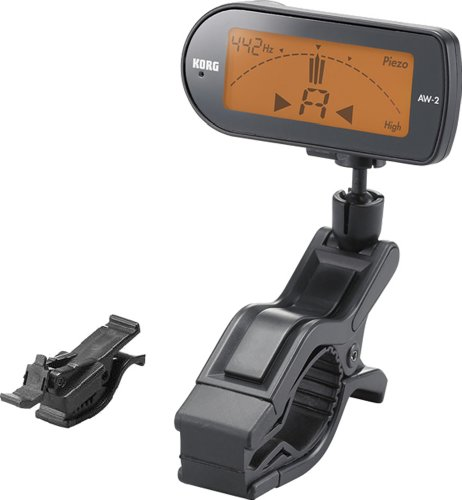 Korg AW2 Clip-on Chromatic Orchestral Instrument Tuner