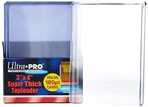 Ultra Pro Topload Card Holder 3x4 180pt (10 Pack)