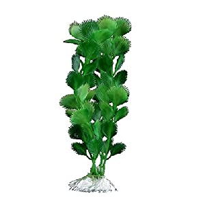 Facilla plante artificielle vert en plastique d coration for Amazon plante artificielle
