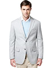Collezione Wool Rich 2 Button Puppytooth Jacket