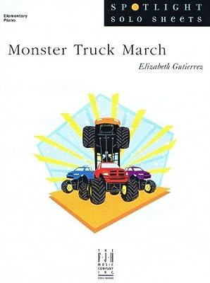 Monster Truck March - Elementary Piano Solo by Elizabeth Gutierrez