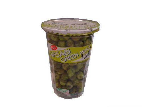 Mishima Wasabi Green Peas Hot Cup, 3.52-Ounce Units (Pack of 12)
