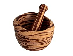 Totally Bamboo NewBoo Mortar and Pestle