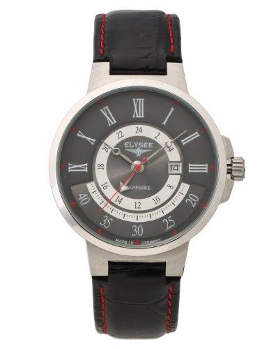 Elysee - Reloj de pulsera hombre, color negro