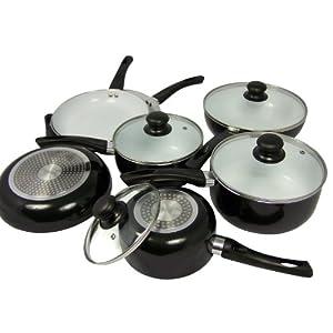 Pradel Premium - Ki-048 - Batterie de Cuisine 11 Pièces - Revêtement Céramique