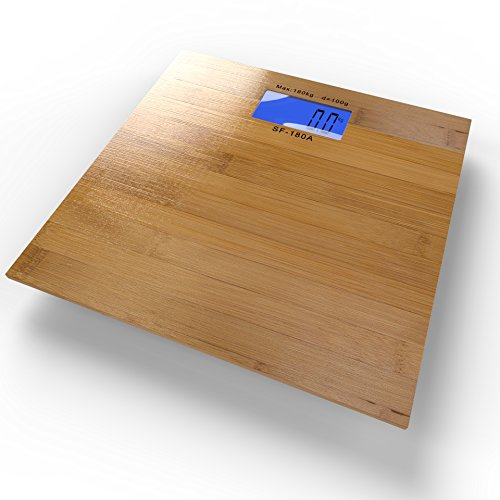 Digital Bathroom Scale by Royal - Premium High Precision Accuracy from 11-400lbs - LCD Display
