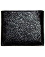 Polo Ralph Lauren Men's Pebble Leather Wallet Black