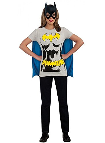 [Female Superhero Costumes Adult T-Shirt Halloween Fancy Dress (XL, Batgirl)] (Female Centaur Costume)