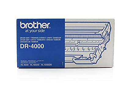 Brother HL-6050 N - Original Brother DR-4000 - Tambour - 30000 pages