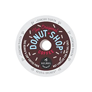 Keurig, The Original Donut Shop, Regular, Medium Extra Bold, K-Cup packs, 72 Count