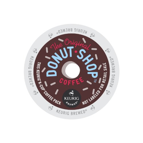 The Original Donut Shop Regular, Keurig K-Cups, 72