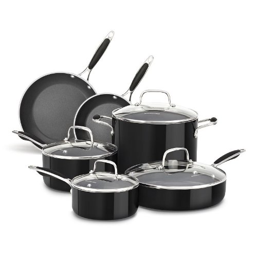 KitchenAid KCAS10OB 10-Piece Cookware Set