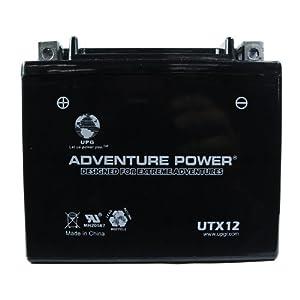 UPG UTX12 Adventure Power Power Sport AGM Series Sealed AGM Battery at Sears.com