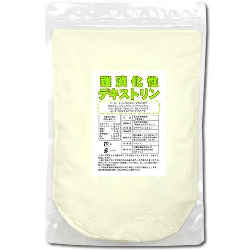 難消化性デキストリン(水溶性食物繊維)2kg(微顆粒品・15cc計量スプーン付き)
