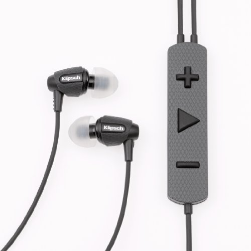 Klipsch Image S5i Rugged In-Ear Headphones with 3-Button Remote