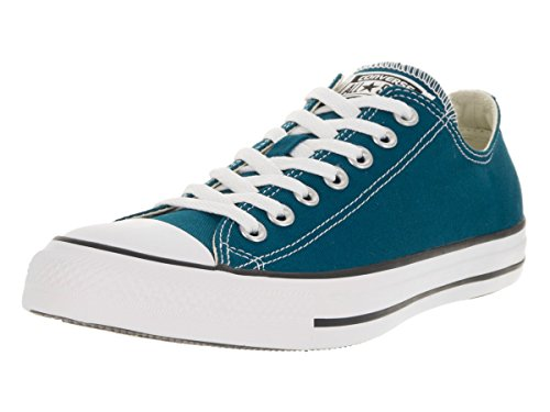 CONVERSE Chuck Taylor All Star Lo Ox Blue Lagoon Sneakers 153867F Men Shoes (4 Men/ 6 Women)