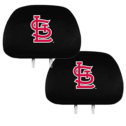 MLB Car Headrest Cover (St. Louis Cardinals) (Cardinal Car Seat Covers compare prices)