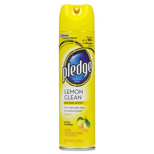 Pledge Lemon Clean Furniture Spray 9 7 Oz Pack Of 1 General General