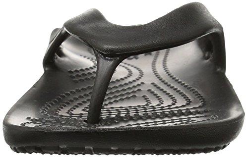 Crocs Women's Kadee II Flip, Black 7 W