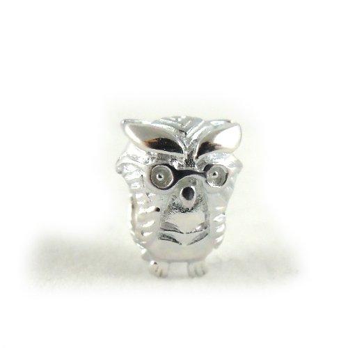 Eule Bead Sterling-Silber 925