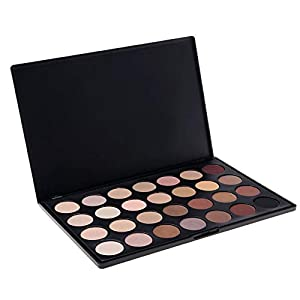 ACEVIVI Cosmetics Professional 28 Colors Neutral Warm Eyeshadow Palette Eye Shadow