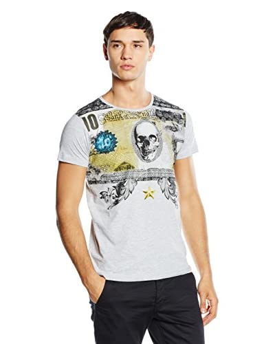 American People Camiseta Manga Corta Baldoin Gris