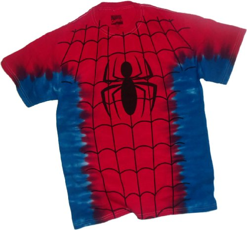 Costume Subway T --- The Amazing Spider-Man Tie-Dye T-Shirt