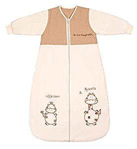 Slumbersac Winter Baby Sleeping Bag Long Sleeves approx. 3.5 Tog - Cartoon Animal - 6-18 months