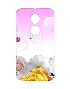 Mobifry Back case cover for Motorola Moto X 2nd generation Mobile (Printed design)
