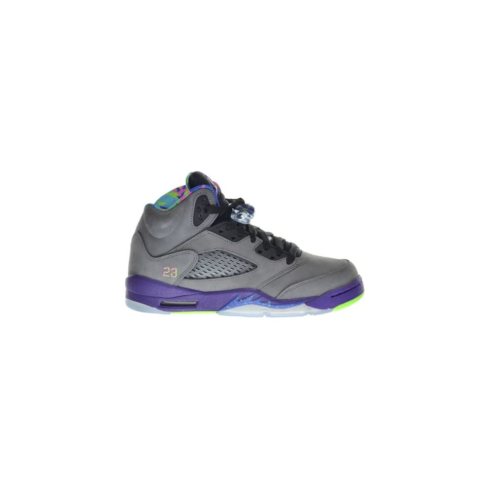 46dda89ad4a6 Air Jordan 5 Retro (GS) Bel Air Fresh Prince Big Kids Shoes Cool Grey Club  Pink Court Purple Game Royal 621959 090