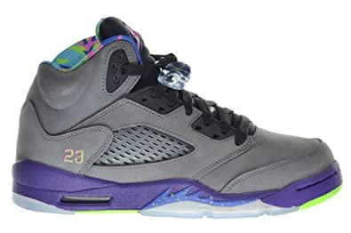 Buy Air Jordan 5 Retro (GS) Bel Air Fresh Prince Big Kids Shoes Cool Grey Club Pink-Court Purple-Game... by Jordan