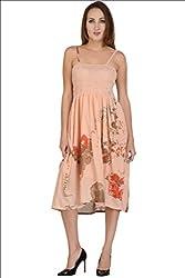 Selfiwear SW-642 Digital Printed Cotton Dress