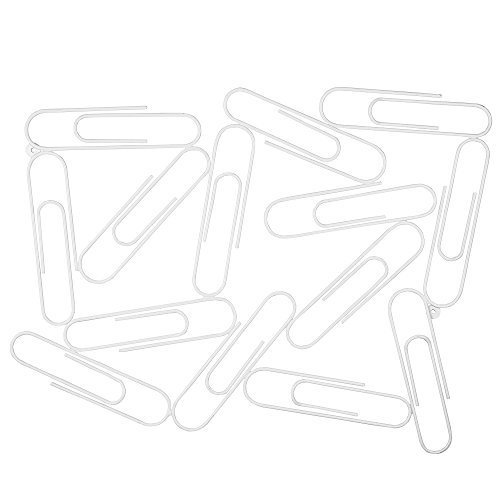 Pinnwand oder Memoboard Büroklammer Design  Weiß Picture