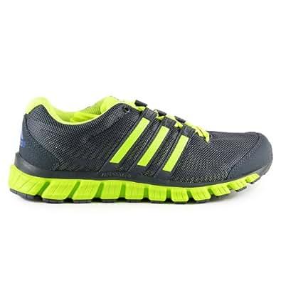 Adidas Liquid Ride Running Shoes - Dark Onyx/Metal Silver/Electricity (Mens) - 8.5