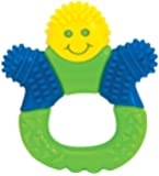 The First Years Bristle Buddy Teether (orange, green, blue)