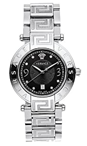 Versace Women's 68Q99SD009 S099 Reve Diamond Watch by Versace