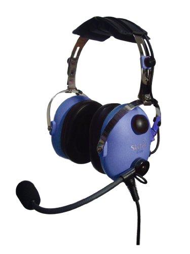Skylite Sl-900Mc Children Aviation Mp3 Headset (Blue)