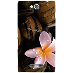 Sony Xperia C Back Cover - Flower Designer Cases