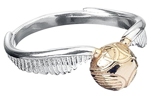 Harry Potter Golden Snitch Anello standard M