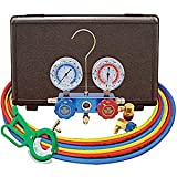 Mastercool Dual R-134A/R12 Aluminum Manifold Gauge Set (MSC98660) Category: AC Manifold Gauges and Sets