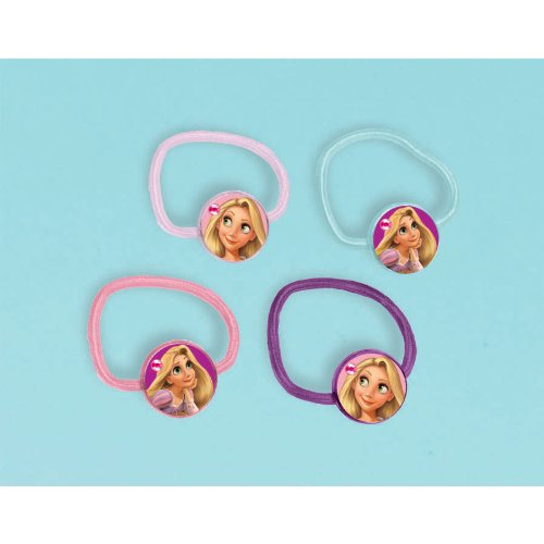Disney's Tangled Hair Bands 4 Pack