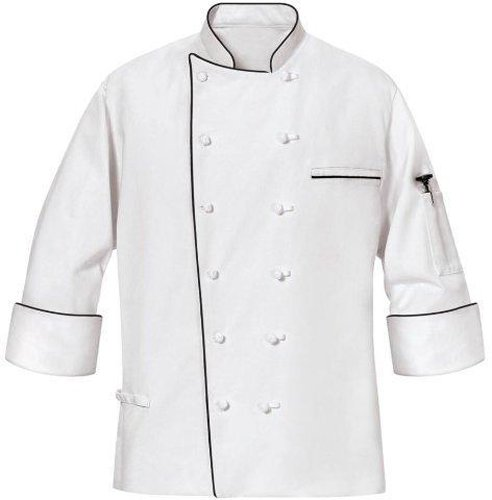 Phoenix Master Chef Coat with Black Piping, Small by Phoenix