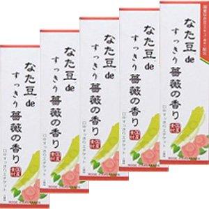 三和通商 なた豆deすっきり薔薇の香り 120g