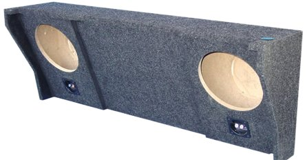 Audio Enhancers Dx140C10 Dodge Subwoofer Box, Carpeted Finish