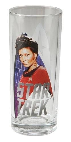 Vandor 80679 Star Trek 10-Ounce Glass Set, 4-Piece