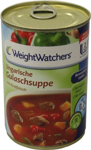 Weight Watchers Ungarische Gulaschsuppe 400ml